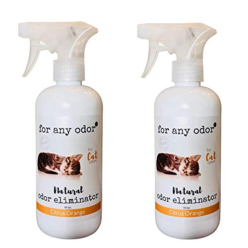 For Any Odor All Natural Odor Eliminating Spray for Cats with  O.A.M. - 16oz
