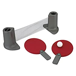 Pongo Table Tennis Set Red/Charcoal