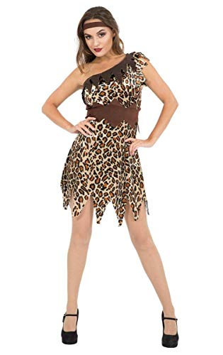 Orion Costumes Womens Sexy Cave Girl Cavewoman Jungle Outfit Small]()