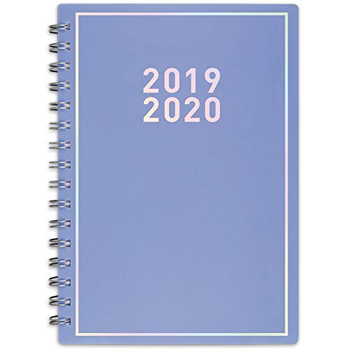 "Matt Crump 2019-2020 Academic Year Weekly & Monthly Planner, Small, 5-1/2"" x 8-1/2"", Pastel Purple (MC102-200A-41)"
