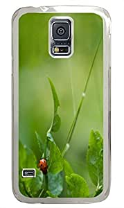 designer Samsung S5 covers Green 11 PC Transparent Custom Samsung Galaxy S5 Case Cover by supermalls