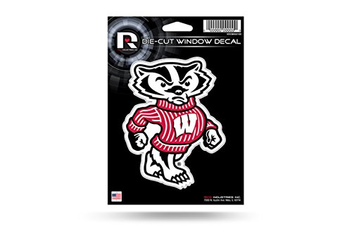 wisconsin badgers auto decal - 8