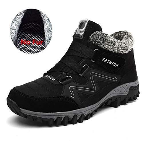 Para Zjw6137black Invierno 46 Cálido Calzado Con Botas Trabajo De Hombres La Nieve Gran Zapatos Fhcgmx Hombre 39 Tamaño Goma Tobillo fRIH8qwx84