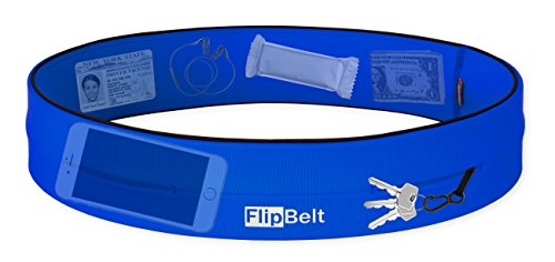 FlipBelt Level Terrain Waist Pouch, Royal Blue, X-Small/22-25 by FlipBelt (Image #2)