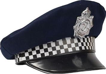 Policeman CAP (gorro sombrero)  Smiffys  Amazon.es  Juguetes y juegos e6f2e321c1f