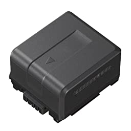 Panasonic Original VW-VBG130 Lithium Battery for HDC-HS700, TM700, HS300, TM300, HS250, SD20, HS20, HDC-SDT750 Camcorders