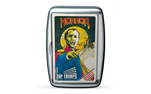 Retro Top trumps - Horror Pack. All the classic horror characters - A great gift and nostalgic challenge!