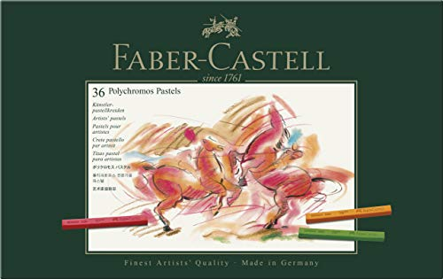 Faber-castell Polychromos Artists Pastels Box Of 36