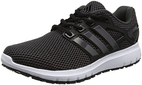 adidas Energy Cloud Wtc, Chaussures de Running Compétition Femme Noir (Utility Black/trace Grey Metallic/core Black)