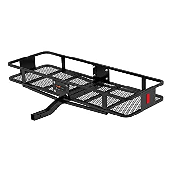 Image of Cargo Baskets CURT 18150 Basket Trailer Hitch Cargo Carrier 500 lbs. Capacity