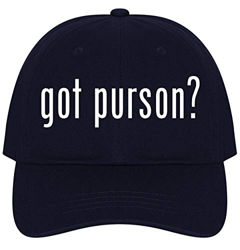 The Town Butler got Purson? - A Nice Comfortable Adjustable Dad Hat Cap, Navy