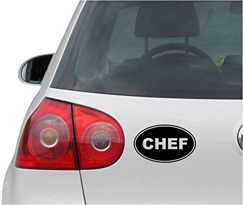 INDIGOS UG Sticker/Decal - JDM - Die Cut - Chef Euro Oval Pink Decal Car Truck Bumper Window Pink Sticker - Black -144mm x88mm (Best Laptop For 400 Euro)