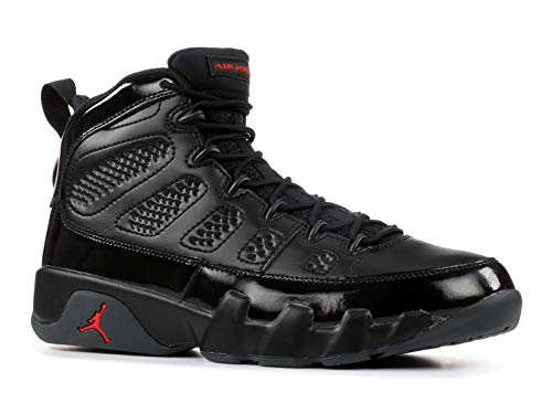 Jordan Air 9 Retro Men's Basketball Shoes Black/University Red 302370-014