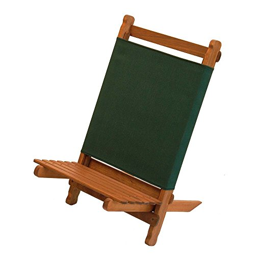 BYER OF MAINE Pangean Lounger Portable Chair, Hardwood Keruing Wood, Hand-Dipped Oil Finish, Easy to Fold and Carry, Perfect for Camping and Tailgating, Matches All Furniture in The Pangean Line