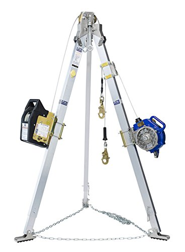 - DBI SALA 8301044 Advanced 9' Tripod, Salalift II Winch and Sealed-Blok 3-Way SRL