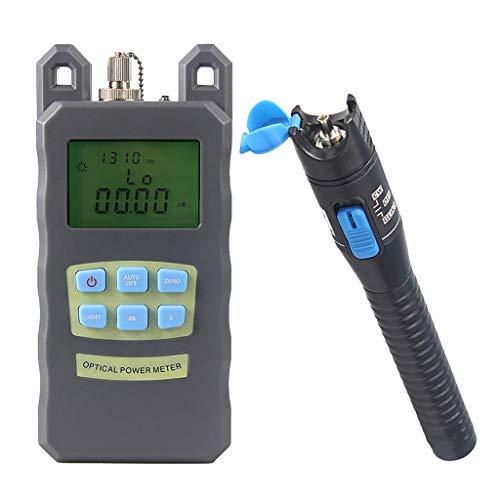 SM SunniMix DXP-20B -70dBm~+10dBm 850~1625nm Optical Power Meter Tester FC SC Handheld Optical Power Meter + with 1mW Visual Fault Locator Pen by SM SunniMix (Image #5)