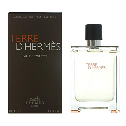 Hermès Men's Terre d'Hermès Eau de Toilette Spray, 3.3 fl. oz. Eau De Toilette Spray Bag