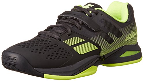 Babolat Men's Propulse AC Aero Tennis Shoes (Black/Yellow) (8.5 D(M) US)