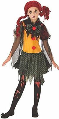 Rubies- Disfraz Zombie Clown Girl Inf,, L (8-10 años) (641127-L ...
