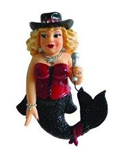 December Diamonds Karla Karaoke Mermaid Ornament by December Diamonds