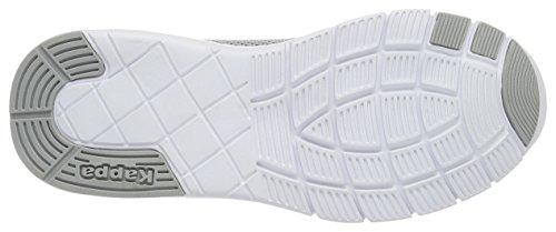Grigio Scarpe da Kappa Unisex White Basse Grey II Ginnastica Tisco Adulto 4q86Z