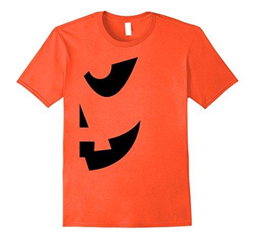 Mens Halloween Jackolantern Shirt - Couples Halloween Costume Large (Halloween Costumes Pics For Couples)