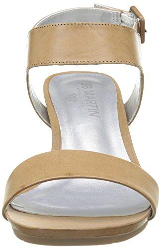 Jb Martin Nuance E16 - Sandalias de vestir Mujer Marron (Veau Florida Colonial)