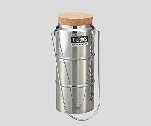 サーモス5-240-11ステンレスデュワー瓶D-1001栓付 B07BD2L5BX
