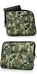 iPad 3 Case, BoxWave [Camouflage Suit with Pocket] Camo Suit w/ Side Pockets for Storage for Apple iPad 3