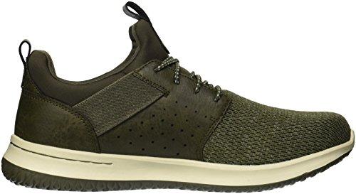Skechers Uomo Classic Fit-delson-camden Sneaker Oliva