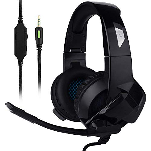 Ceppekyy Gaming Headset Xbox One,PS4,PC,Noise Cancelling Over Ear Headphones Mic&Stereo Surround Sound Nintendo...