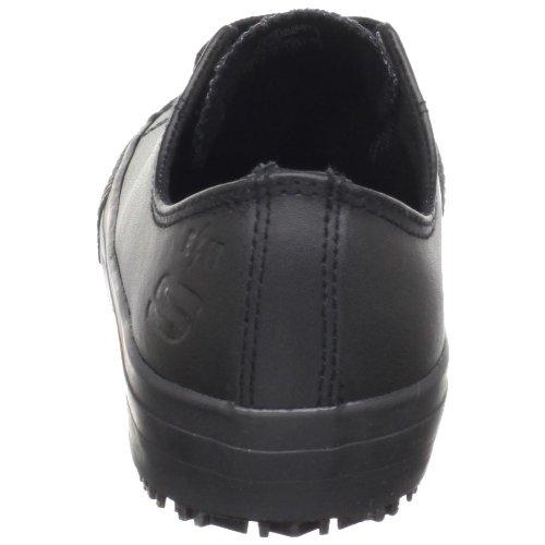 Skechers for Work Women's Gibson-Hardwood Slip-Resistant Sneaker, Black, 8 M US by Skechers (Image #2)