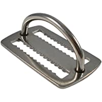 Scuba Choice Scuba Diving Stainless Steel Weight Belt Keeper with D-ring