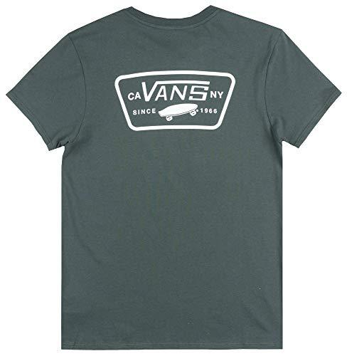 (Vans Off The Wall OTW Full Patch T-Shirt Womens Skateboard Boyfriend TEE)