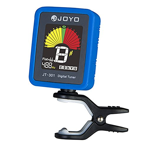 Joyo-JT-301-Clip-on-Electric-Digital-Tuner-Color-Screen-with-Silica-Gel-Cover-for-Guitar-Chromatic-Bass-Ukulele-Violin-Universal-Portable