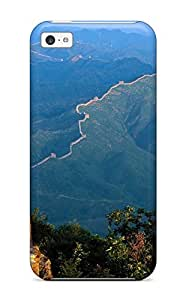 Excellent Iphone 5c Case Tpu Cover Back Skin Protector The Ever Longest Vestiges Great Wall Whole Nature Other
