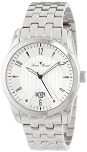 Lucien Piccard Men's LP-12355-22S Diablons Silver Dial Stainless Steel Watch