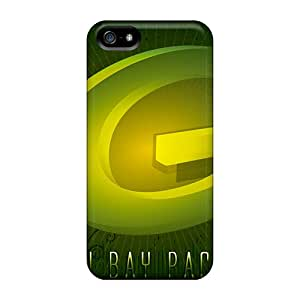 New No1cases Super Strong Green Bay Packers Cases Covers For Iphone 5/5s