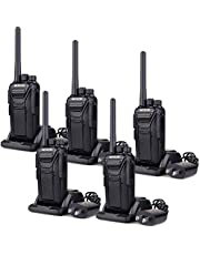 Retevis RT27 Walkie Talkie Rechargeable Long Range 22 Channel Rugged VOX Two Way Radio(5 Pack)