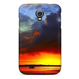 Galaxy S4 Case Bumper Tpu Skin Cover For Bora Bora Sunrise Accessories