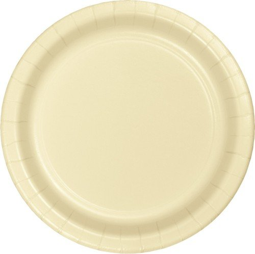 Ivory 10'' Banquet Paper Plate Solid 240ct