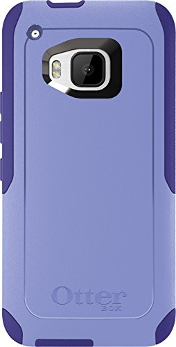 OtterBox Commuter Case for HTC One M9 - Retail Packaging - Purple Amethyst (Periwinkle Purple/Liberty Purple)