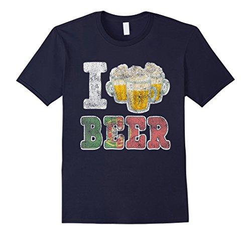 Mens I'm from Portugal & I Love Beer Oktoberfest 3XL - Men Portugal From