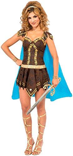 Forum Novelties Women's Sexy Gladiator Costume, Multi, Medium/Large (Gladiator Costumes For Women)