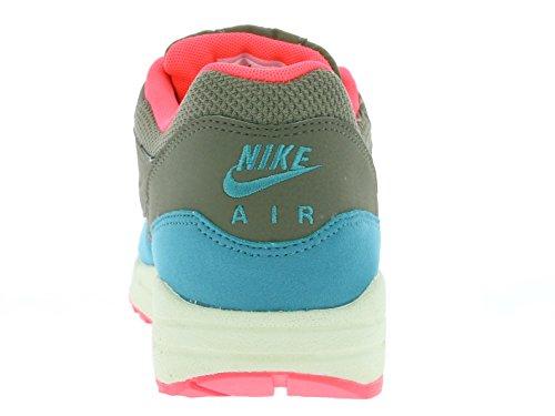 Nike Air Max 1 537383, Uomini Bassa Sneaker Marrone (marrone / Arancio)