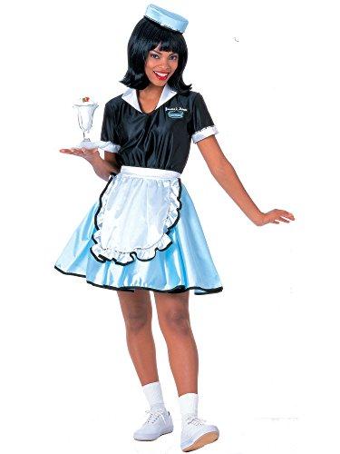 Car Hop Girl Costume for (Car Hop Girl Adult Costumes)