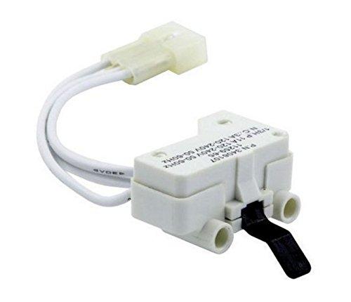 Dryer Door Switch for 3406109 3406107 Whirlpool, Kenmore, Sears, Maytag, Roper, Estate Kenmore Dryer Door Switch