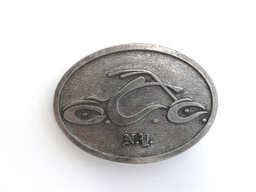 Orange County Choppers Oval Pewter Belt Buckle - Chopper Buckle