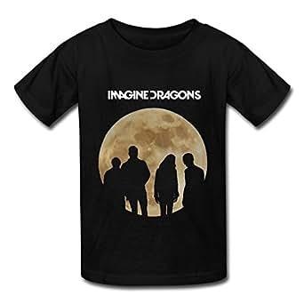 Imagine Dragons Clothing : cr rock and pop band imagine dragons t shirt for kids big boys 39 and big girls 39 black ~ Hamham.info Haus und Dekorationen