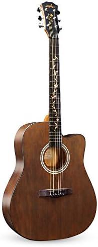 Una guitarra de madera / instrumento de cuerda,Yo: Amazon.es ...